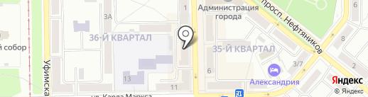Мегачип на карте Салавата