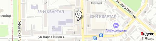 КРОНЕ Инжиниринг на карте Салавата