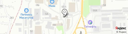 Пункт диагностики и технического обслуживания легковых автомобилей на карте Салавата