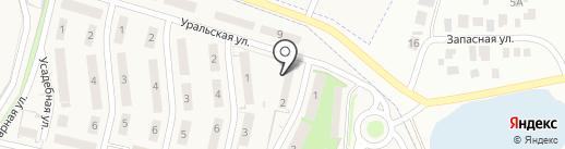 Адвокат Нурмухаметов В.Н. на карте Чесноковки