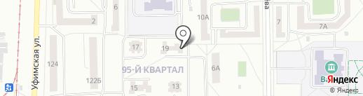 Эконом на карте Салавата