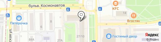 Салават-Сервис на карте Салавата