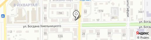 Престиж букет на карте Салавата