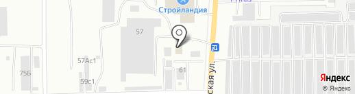 Этал на карте Салавата