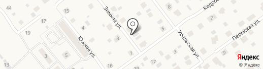 Анварис на карте Култаево