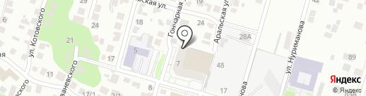Лаборатория на карте Уфы