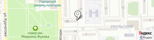Гаражи, МУП на карте Стерлитамака