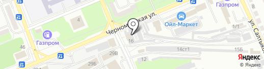 Автогазмастер на карте Стерлитамака