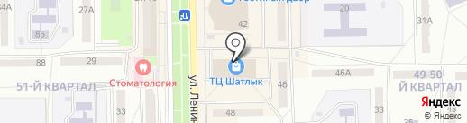 Магазин одежды на карте Салавата