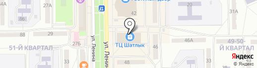 Магазин головных уборов на карте Салавата