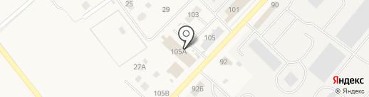 Шиномонтажная мастерская на ул. Романа Кашина на карте Култаево