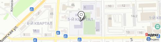 Средняя общеобразовательная школа №3 на карте Салавата