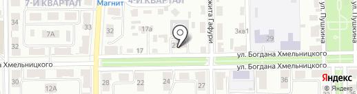 Салаватский городской отдел управления Федеральной службы судебных приставов по Республике Башкортостан на карте Салавата