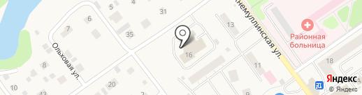 Култаевский дом-интернат для престарелых и инвалидов на карте Култаево