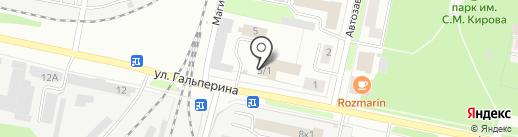 Телефон доверия противопожарной службы на карте Перми