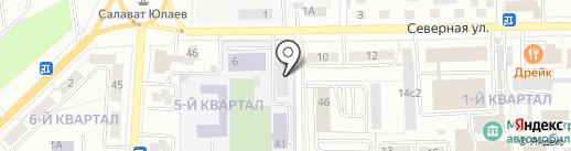 ЖЭУ-2 на карте Салавата