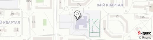 Средняя общеобразовательная школа №23 на карте Салавата