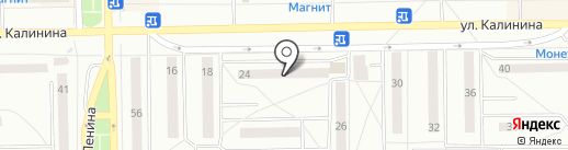 Гузель на карте Салавата