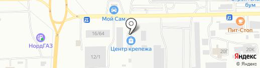 Центр крепежа на карте Салавата