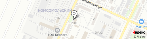 Западно-Уральское управление Федеральной службы по экологическому, технологическому и атомному надзору на карте Стерлитамака