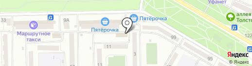 Агентство независимых экспертиз на карте Стерлитамака