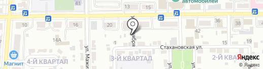 Золотой Клю4ик на карте Салавата