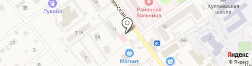 Култаевская аптека на карте Култаево