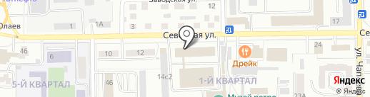 Шапол`е на карте Салавата