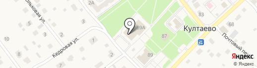 Опора на карте Култаево