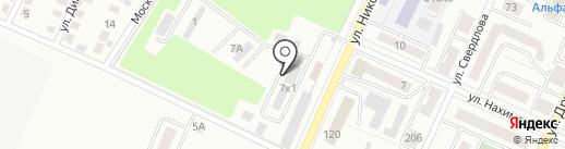 Прима на карте Стерлитамака