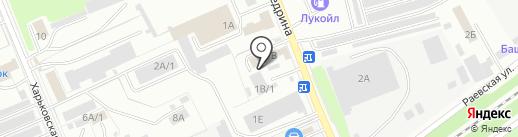 Магазин автозапчастей для китайских автомобилей на карте Стерлитамака
