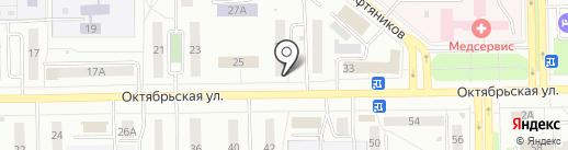 Оливия на карте Салавата