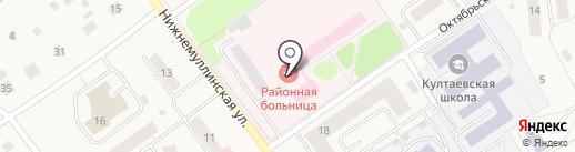 Поликлиника на карте Култаево