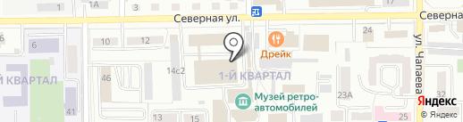Магазин бытовой химии на карте Салавата