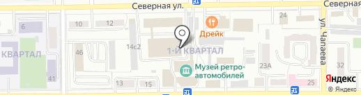 Ортикон-Травница на карте Салавата