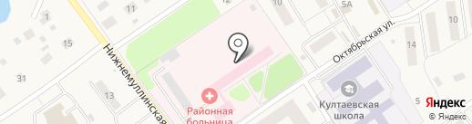 Пермская районная больница на карте Култаево