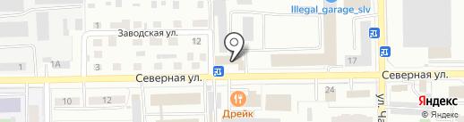 Адвокат Лукьяненко Е.М. на карте Салавата