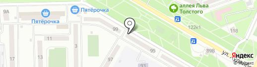 Оникс-тур на карте Стерлитамака