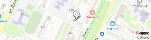 Центр оздоровительных технологий на карте Стерлитамака