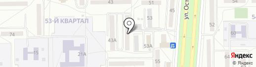 Библиотека №10 на карте Салавата