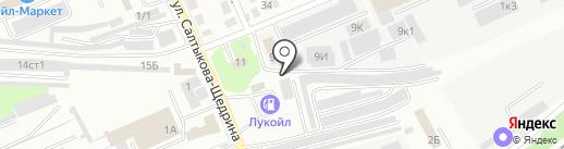 БашкирЭлектроМонтаж-Салават на карте Стерлитамака