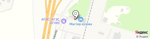 Мастер кузова на карте Чесноковки