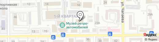 Салаватский городской суд Республики Башкортостан на карте Салавата
