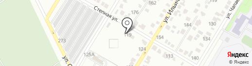 Гидрологическая станция на карте Стерлитамака