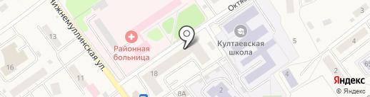 Сорока на карте Култаево