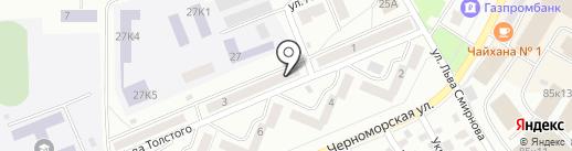 Нотариус Журавлева У.В. на карте Стерлитамака