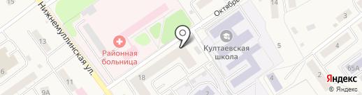 Платежный терминал, Сбербанк, ПАО на карте Култаево