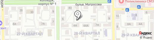 Межрайонный отдел управления экономической безопасности и противодействия коррупции МВД по Республике Башкортостан на карте Салавата