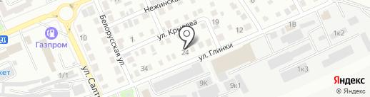 Авто-стр на карте Стерлитамака
