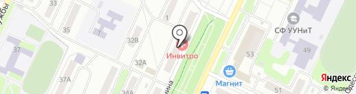 Нуга Бест на карте Стерлитамака